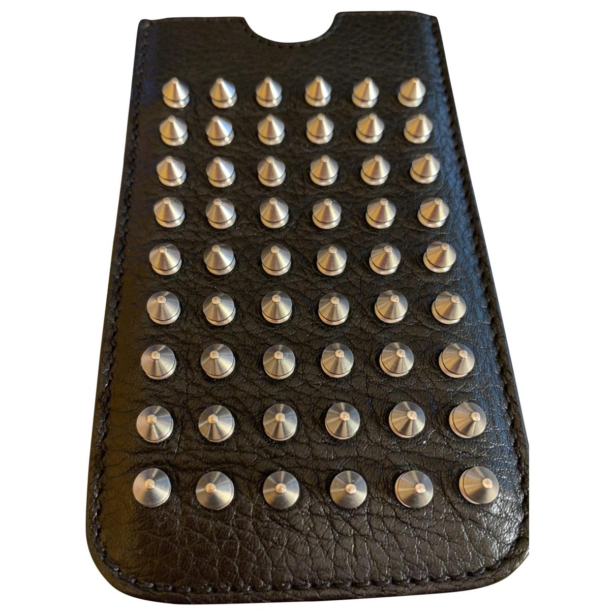 Burberry - Accessoires   pour lifestyle en cuir - noir