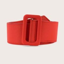 Cinturon ancho rojo
