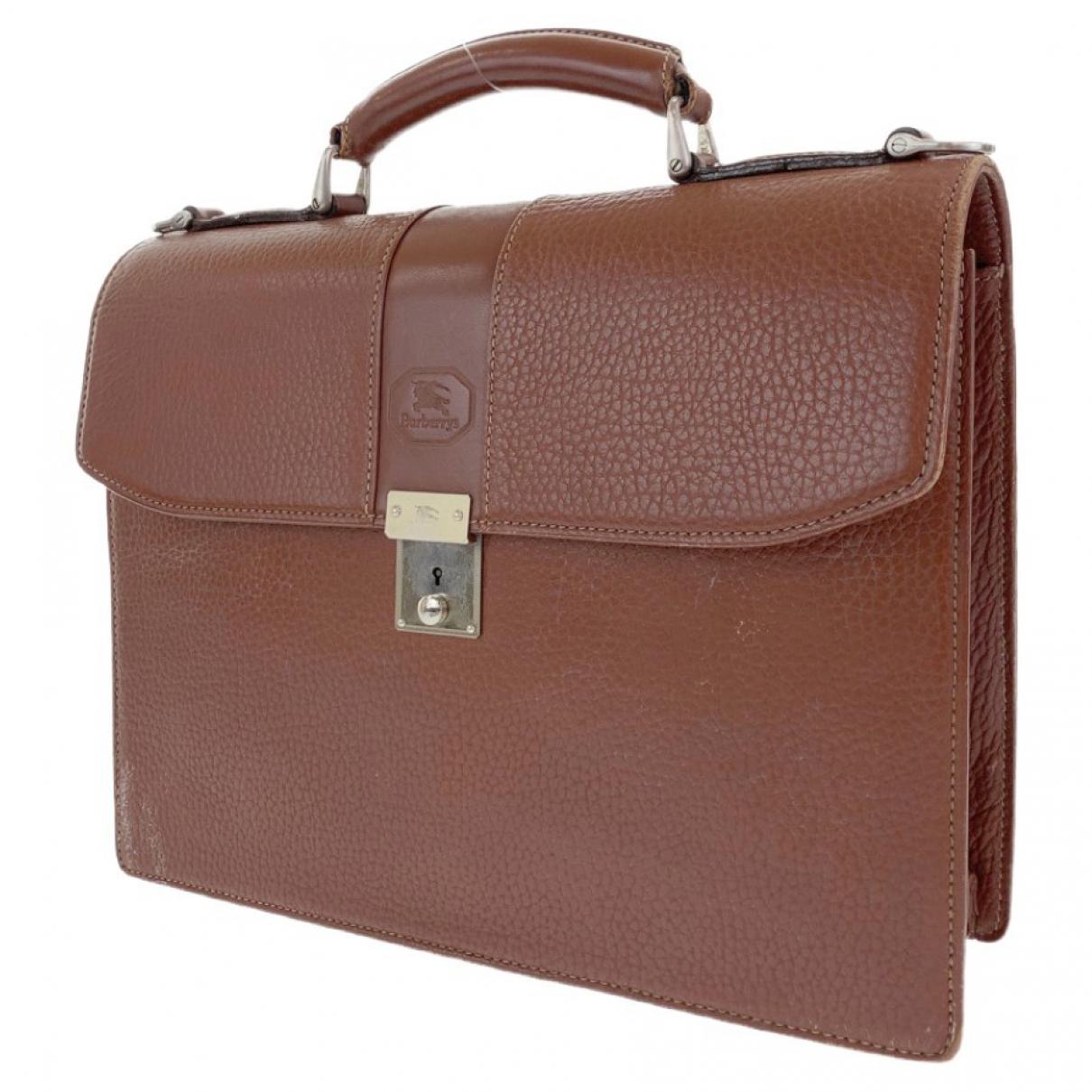 Burberry \N Leather bag for Men \N