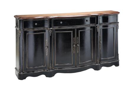 64705 Van Velsor Cabinet  in Black  Brown