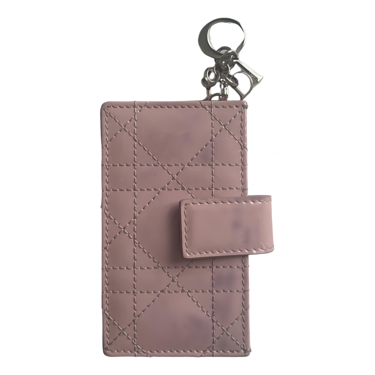 Dior \N Pink Patent leather Purses, wallet & cases for Women \N