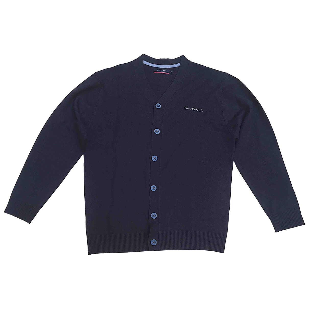 Pierre Cardin \N Pullover.Westen.Sweatshirts  in  Schwarz Synthetik