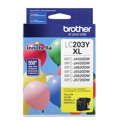 Brother MFC-J5620DW Original Yellow Ink Cartridge, High Yield