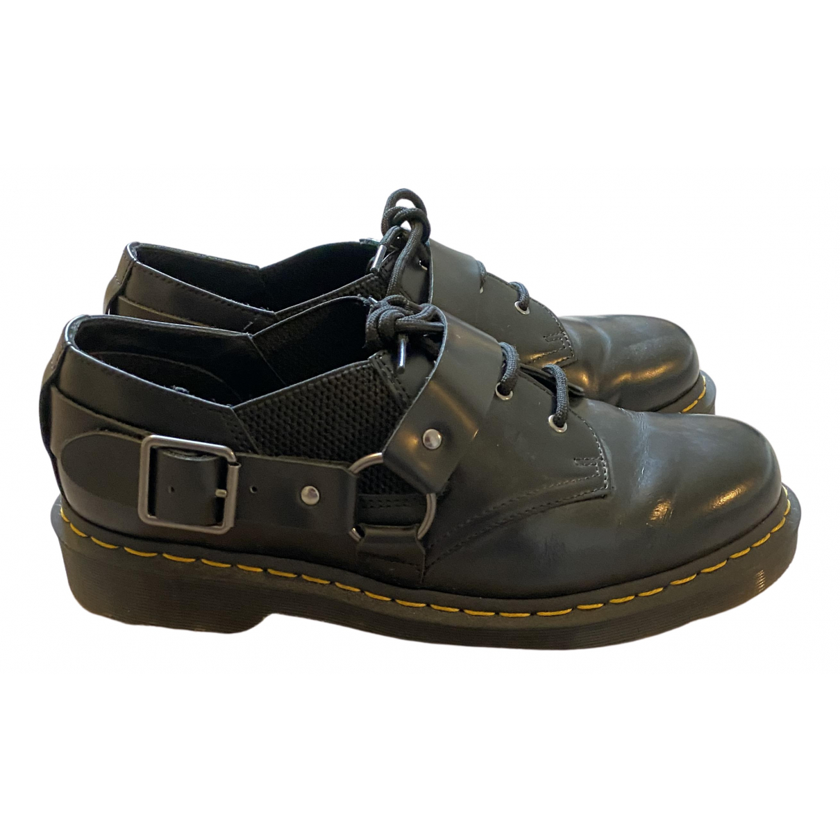 Dr. Martens N Black Leather Lace ups for Men 43 EU