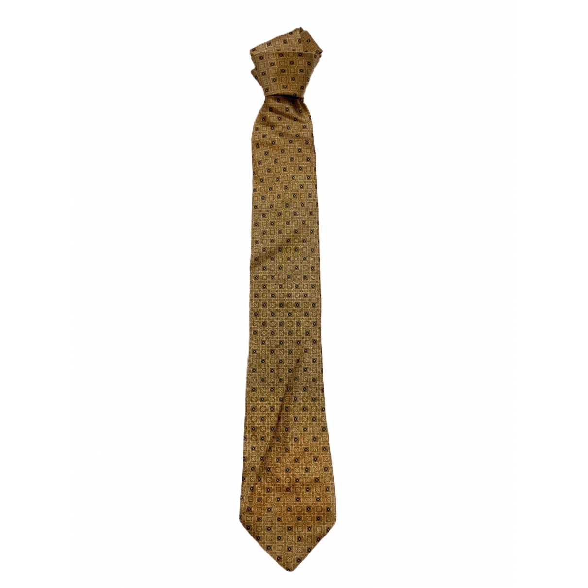 Brioni \N Brown Silk Ties for Men \N