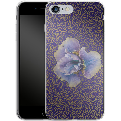 Apple iPhone 6 Plus Silikon Handyhuelle - Iris Drawing Meditation von Kaitlyn Parker