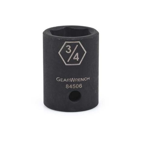 GearWrench 1/2 In. Drive 6 Point Standard Impact SAE Socket 13/16 In.