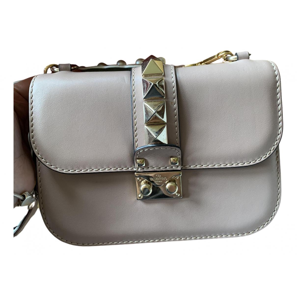 Valentino Garavani Glam Lock Pink Leather handbag for Women N