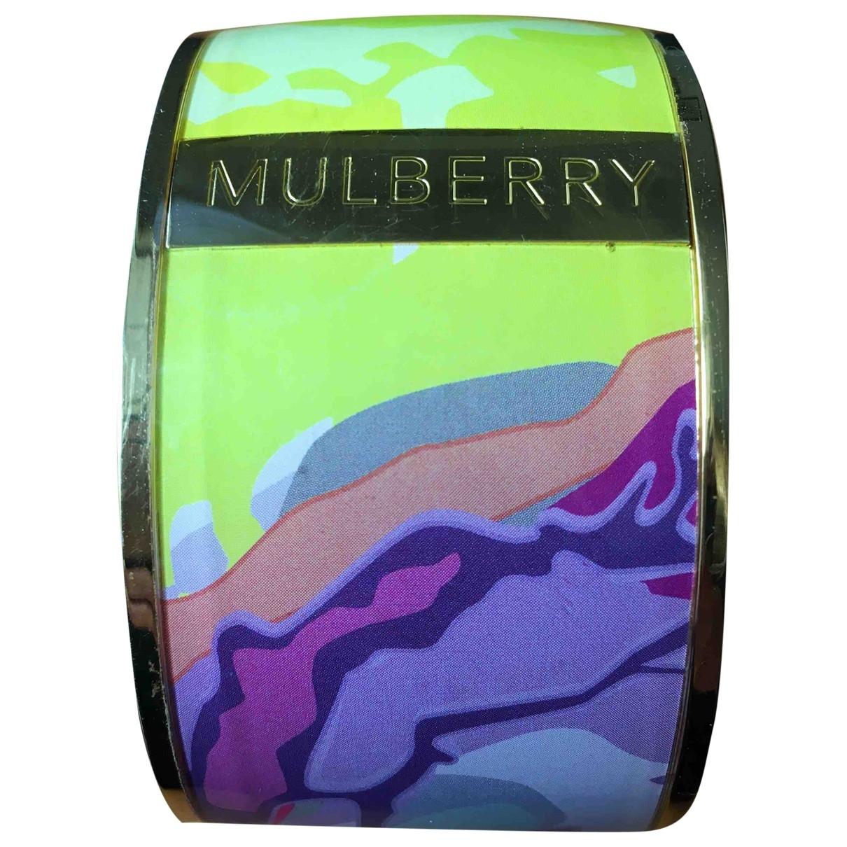 Mulberry \N Multicolour Metal bracelet for Women \N