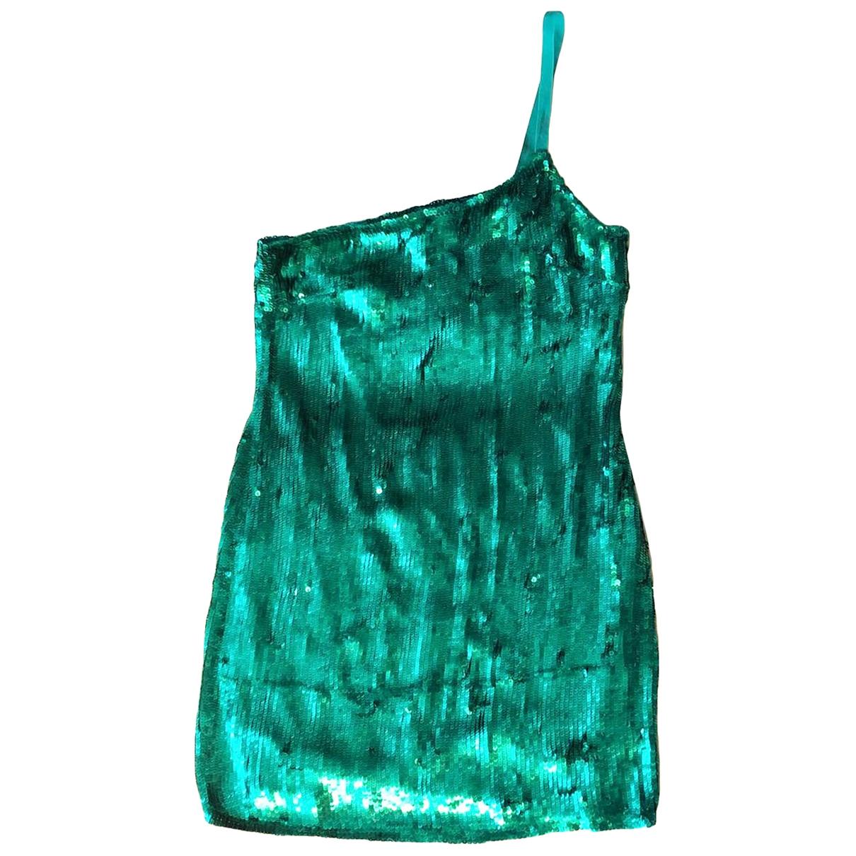 Catherine Malandrino - Robe   pour femme en soie - vert
