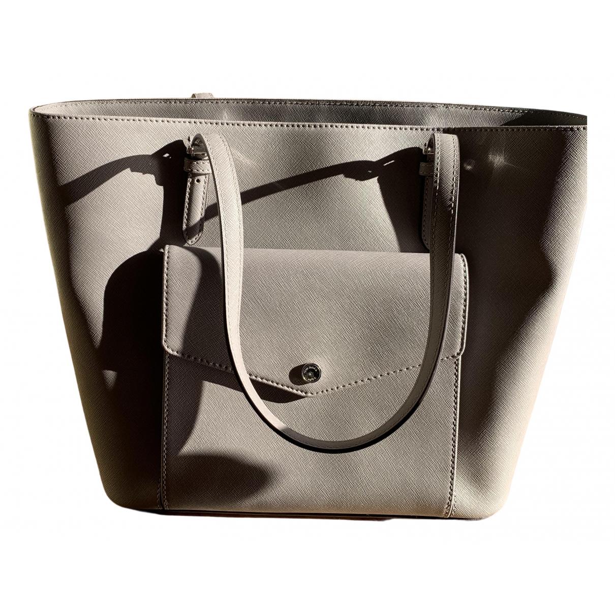 Michael Kors N Grey Leather handbag for Women N