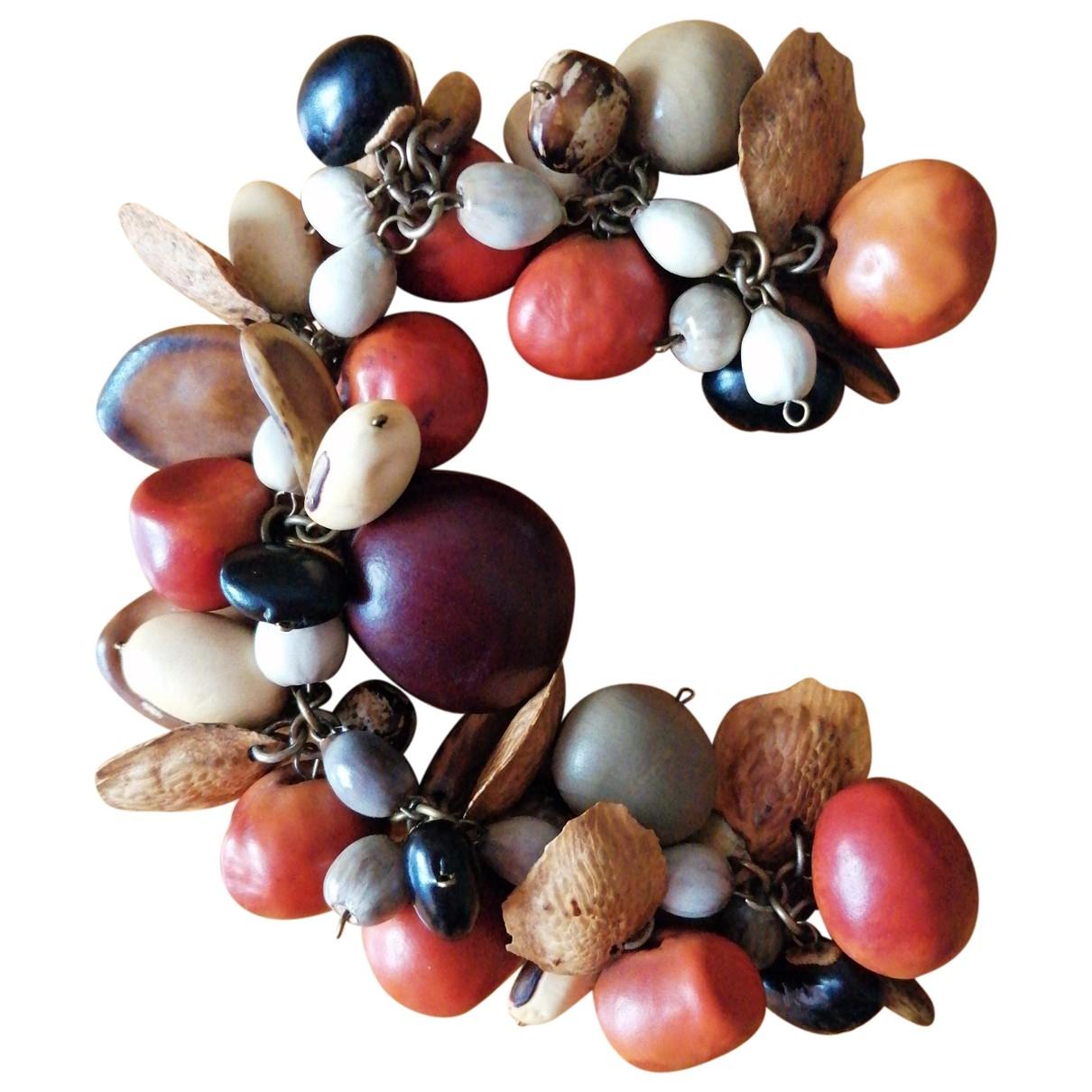 - Bracelet   pour femme en bois - multicolore