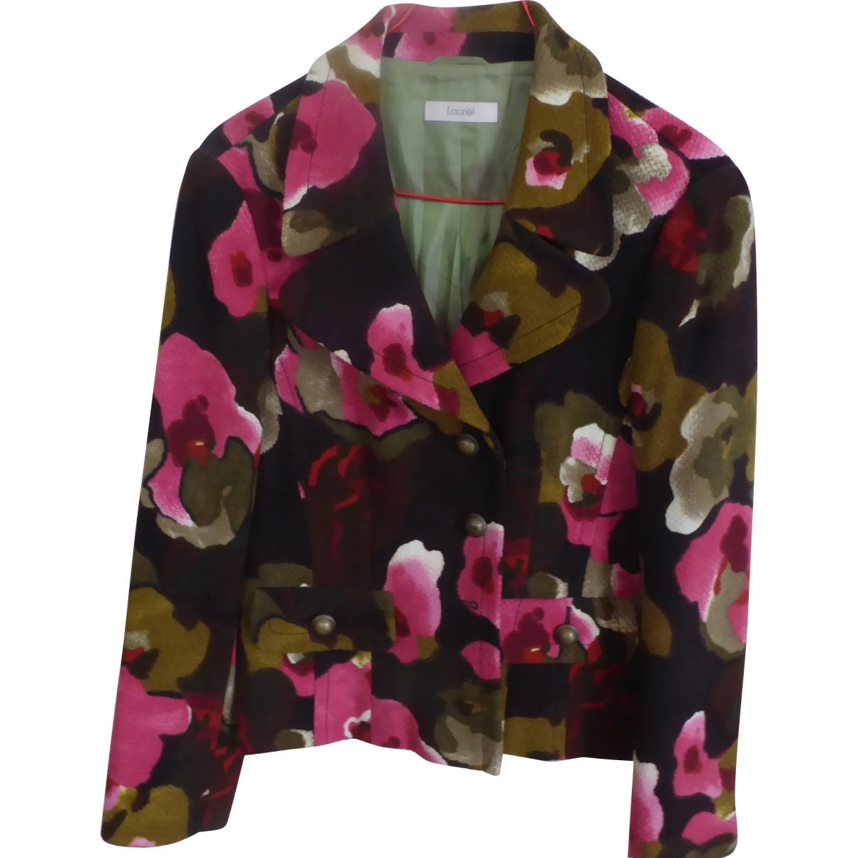 Laurel - Veste   pour femme en laine - multicolore
