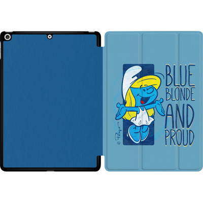 Apple iPad 9.7 (2018) Tablet Smart Case - Blue, Blond and Proud von The Smurfs