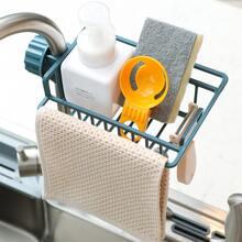 1pc Faucet Drain Storage Basket