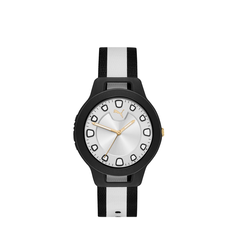 Puma Women's Reset V1 P1022 Black Nylon Quartz Fashion Watch