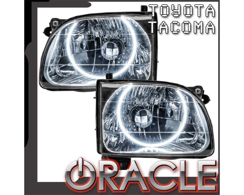 Oracle Lighting 7202-052 Pre-Assembled Headlights PLASMA Halo Kit Blue Toyota Tacoma 2001-2004