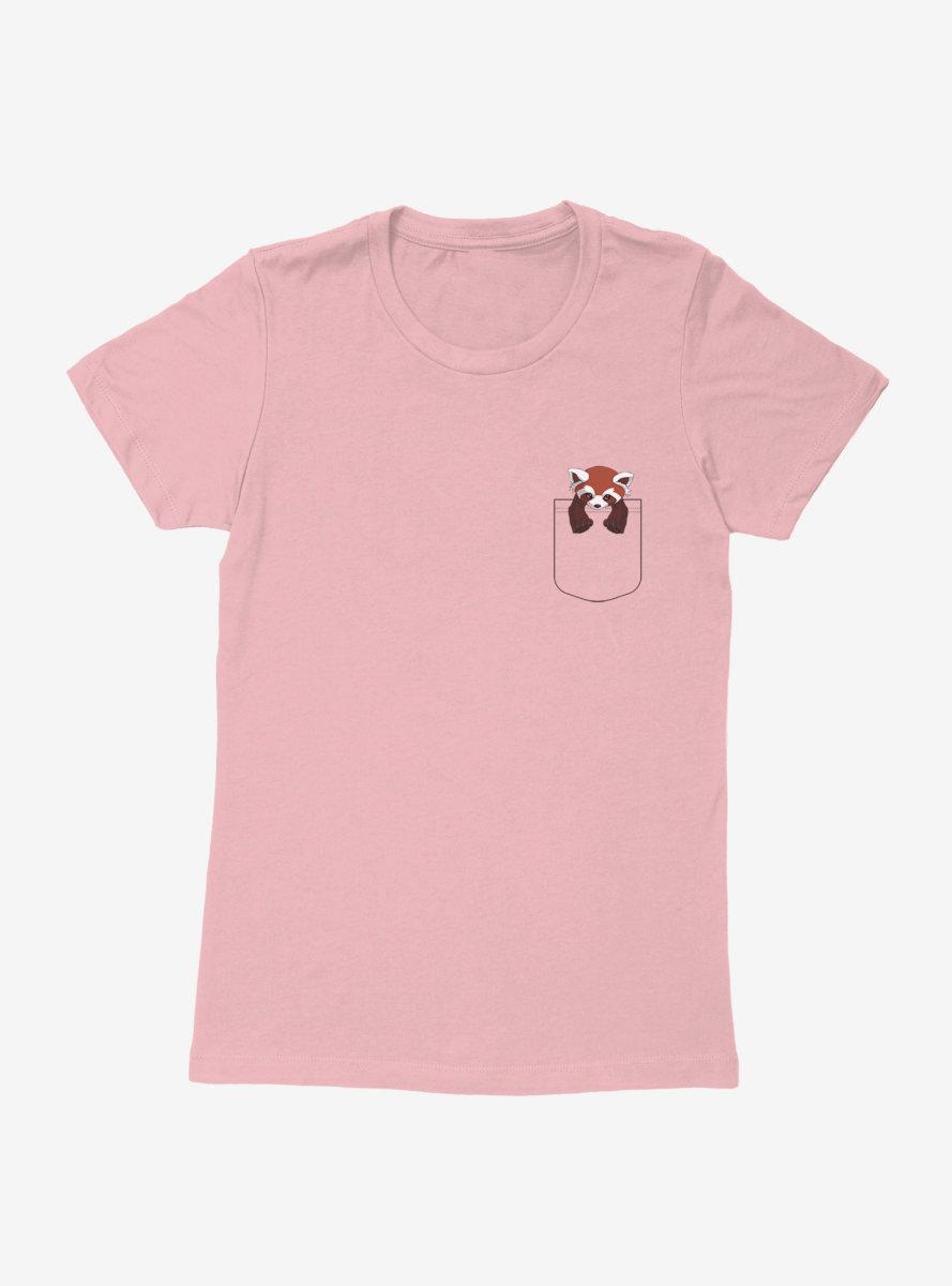 The Legend Of Korra Fire Ferret Faux Pocket Womens T-Shirt