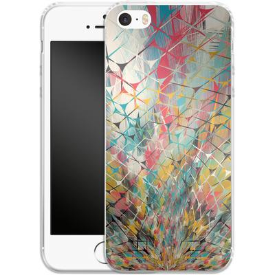 Apple iPhone SE Silikon Handyhuelle - Spider Explosion von Danny Ivan