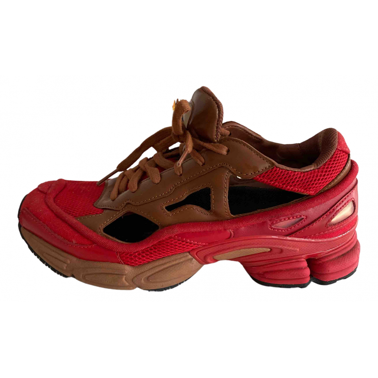 Adidas X Raf Simons - Baskets RS Ozweego pour femme en toile - rouge