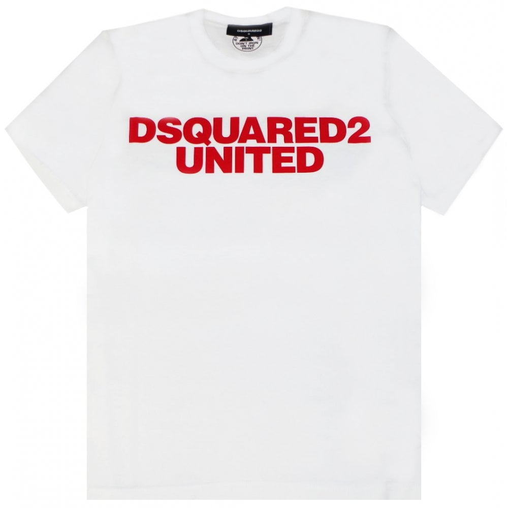 Dsquared2 United T-shirt Colour: NAVY, Size: EXTRA LARGE