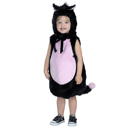 Little Kitty Costume, 12-18 Months , Black