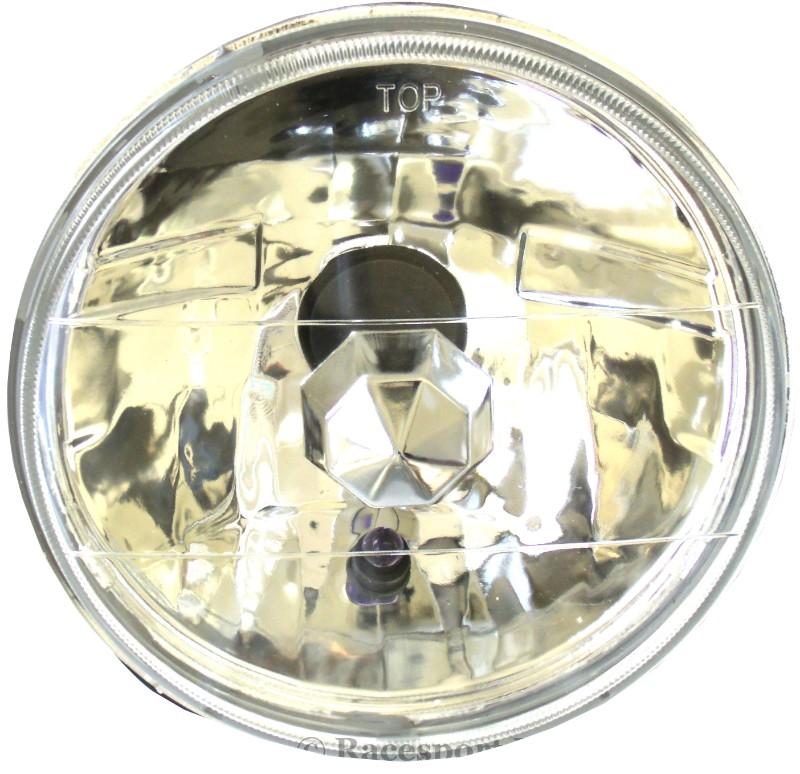 Race Sport Lighting RS-7008 7 Inch Diamond Cut Headlight Conversion Lens Pair