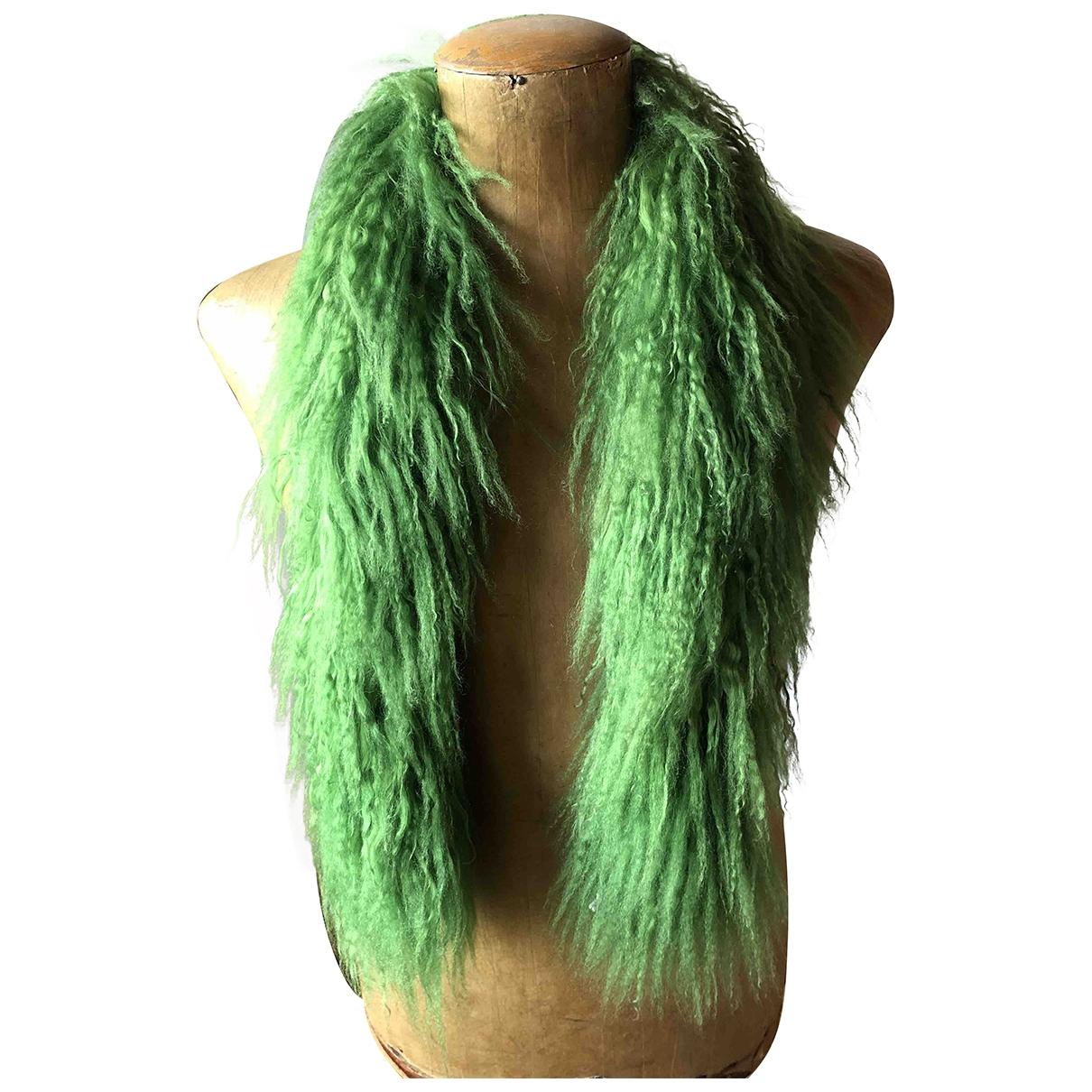 - Foulard   pour femme en mouton - vert