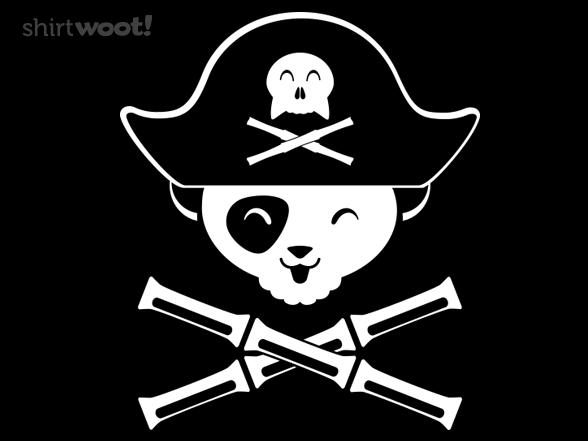 Panda Pirate T Shirt