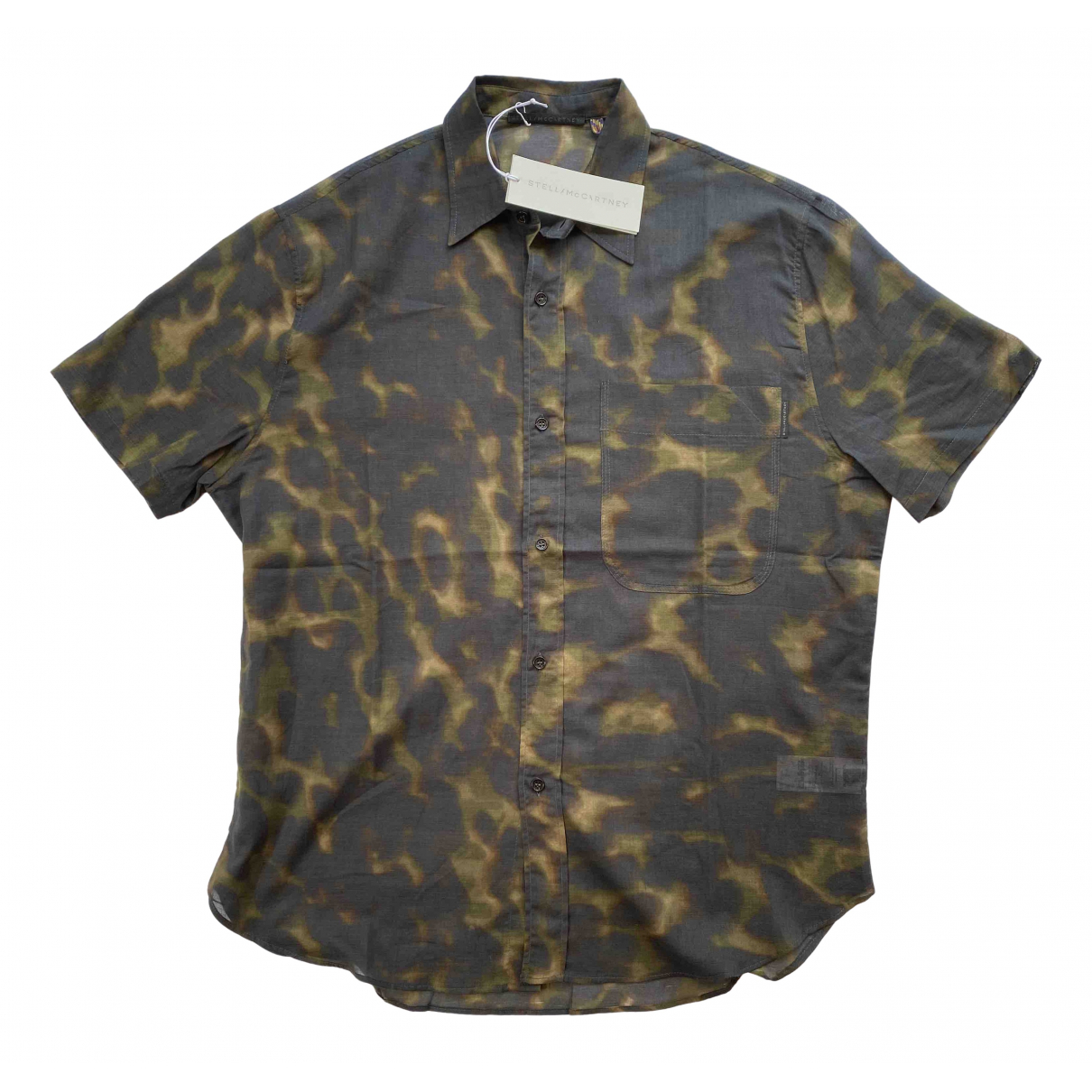 Stella Mccartney - Chemises   pour homme en coton - kaki
