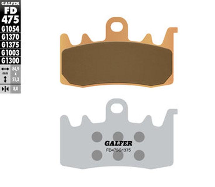 Galfer Front Brake Pads DUCATI HYPERMOTARD