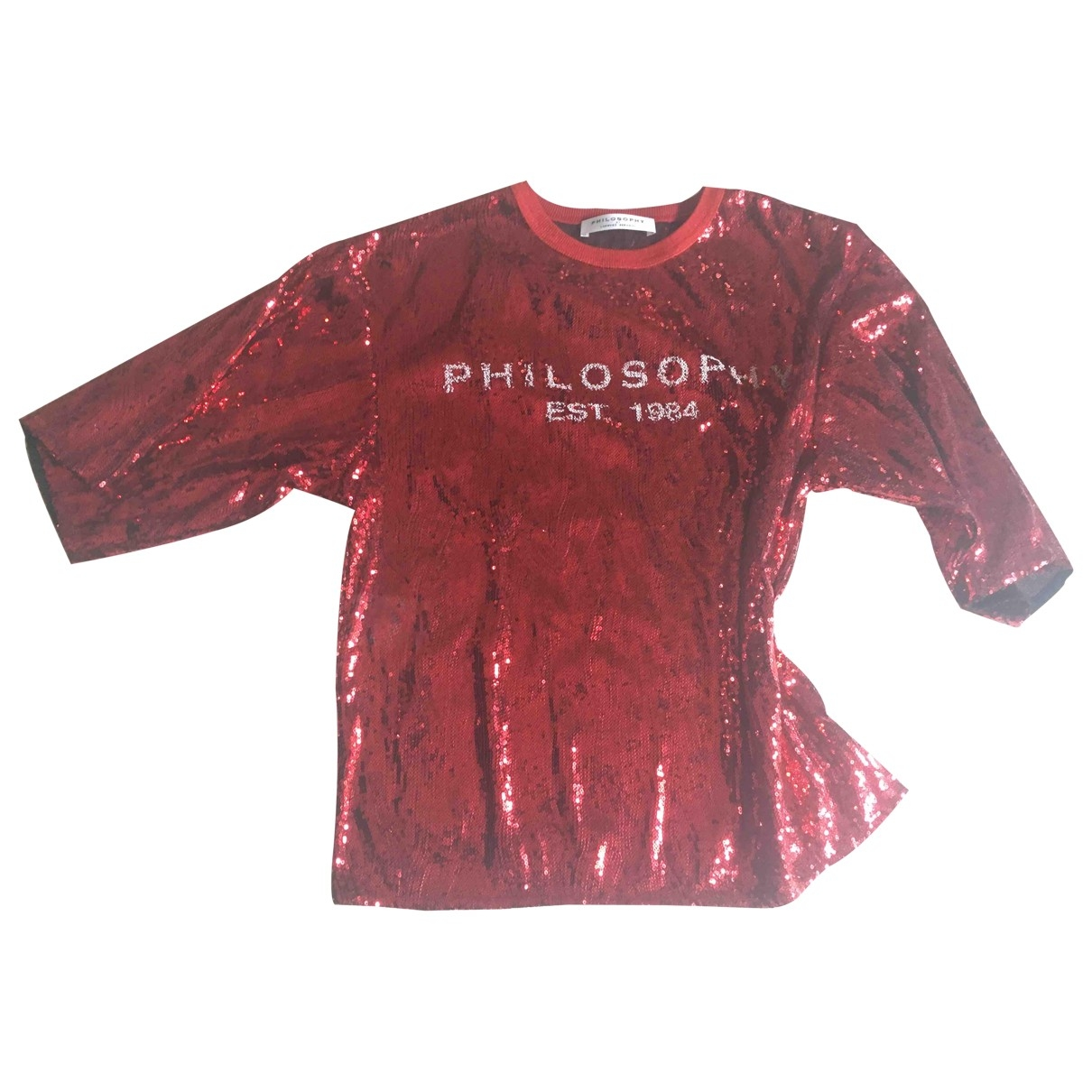 Philosophy Di Lorenzo Serafini - Pull   pour femme - rouge