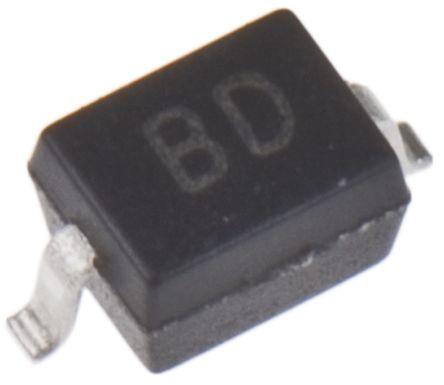 DiodesZetex Diodes Inc 40V 1A, Schottky Diode, 2-Pin SOD-323 ZHCS400TA (25)
