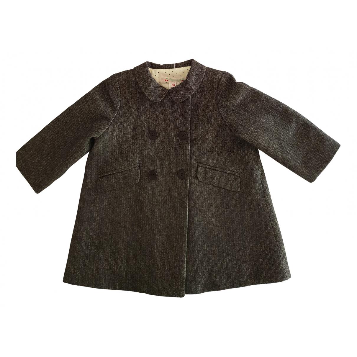 Bonpoint - Pull   pour enfant - gris