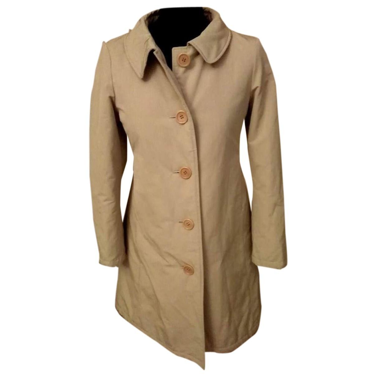 Aspesi - Manteau   pour femme en coton - beige