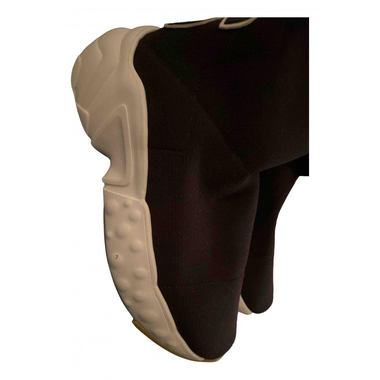 Acne Studios - Baskets   pour femme en caoutchouc - noir