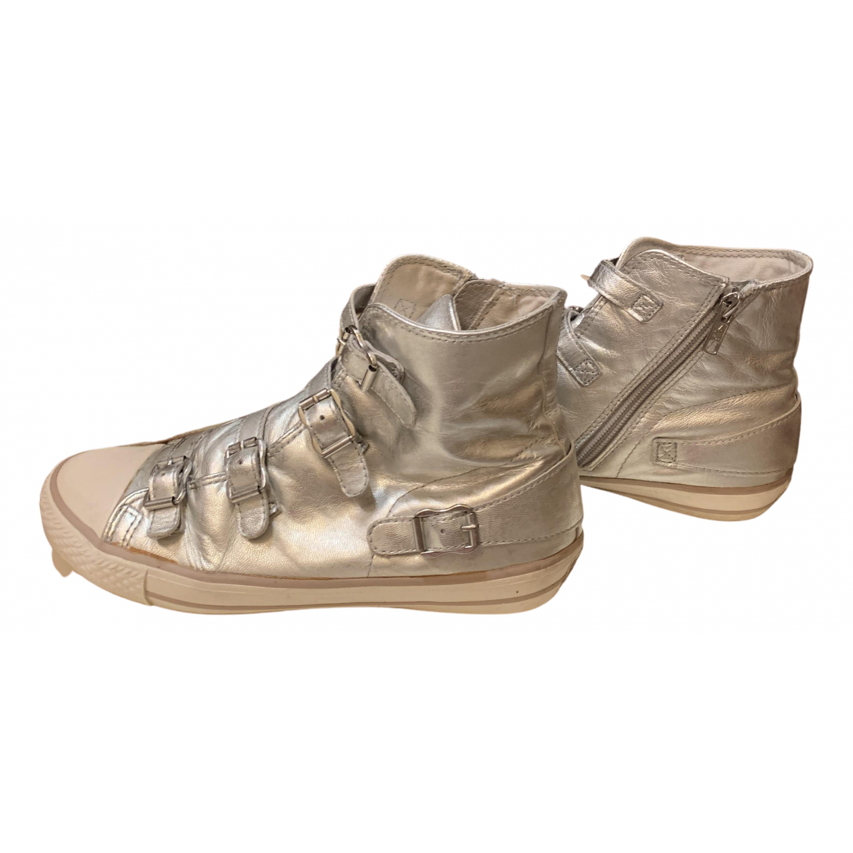 Ash N Silver Cloth Trainers for Women 38 IT