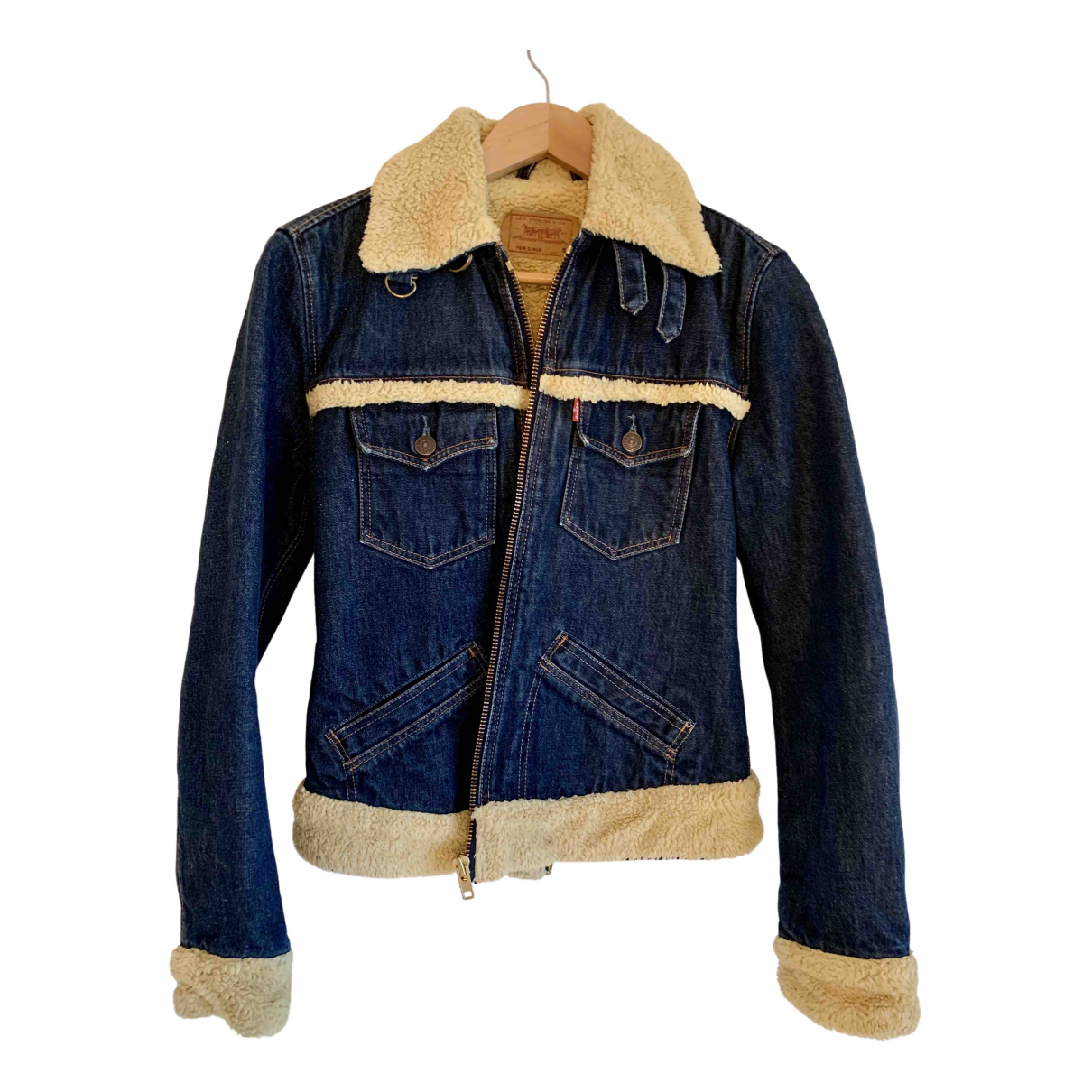 Levi's \N Blue Denim - Jeans jacket for Women 36 FR