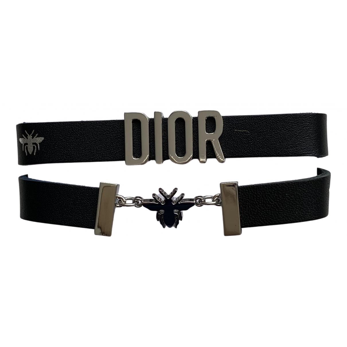 Dior - Bracelet   pour femme en metal - noir