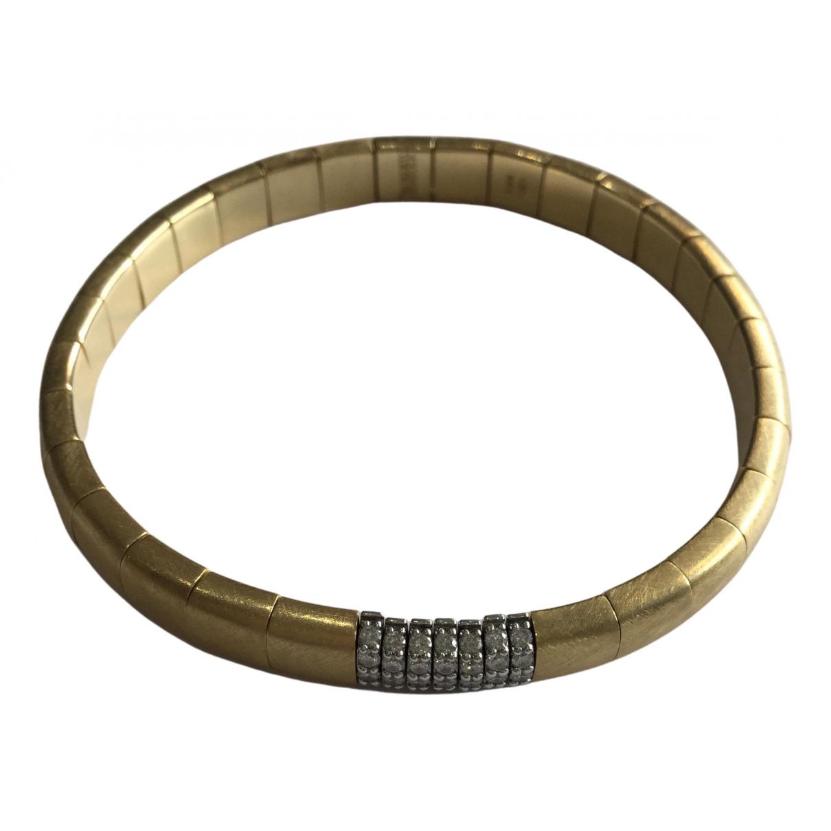 - Bracelet   pour femme en or jaune - metallise