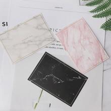2 Stuecke Umschlag & 10 Stuecke Papier mit zufaelligem Marmor Muster