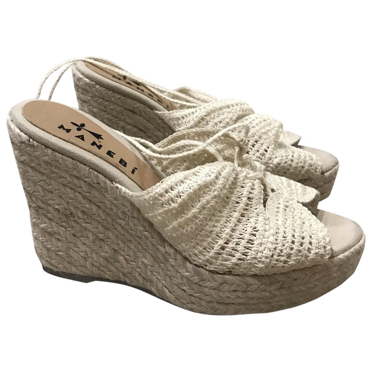 Sandalias de Lona Manebi
