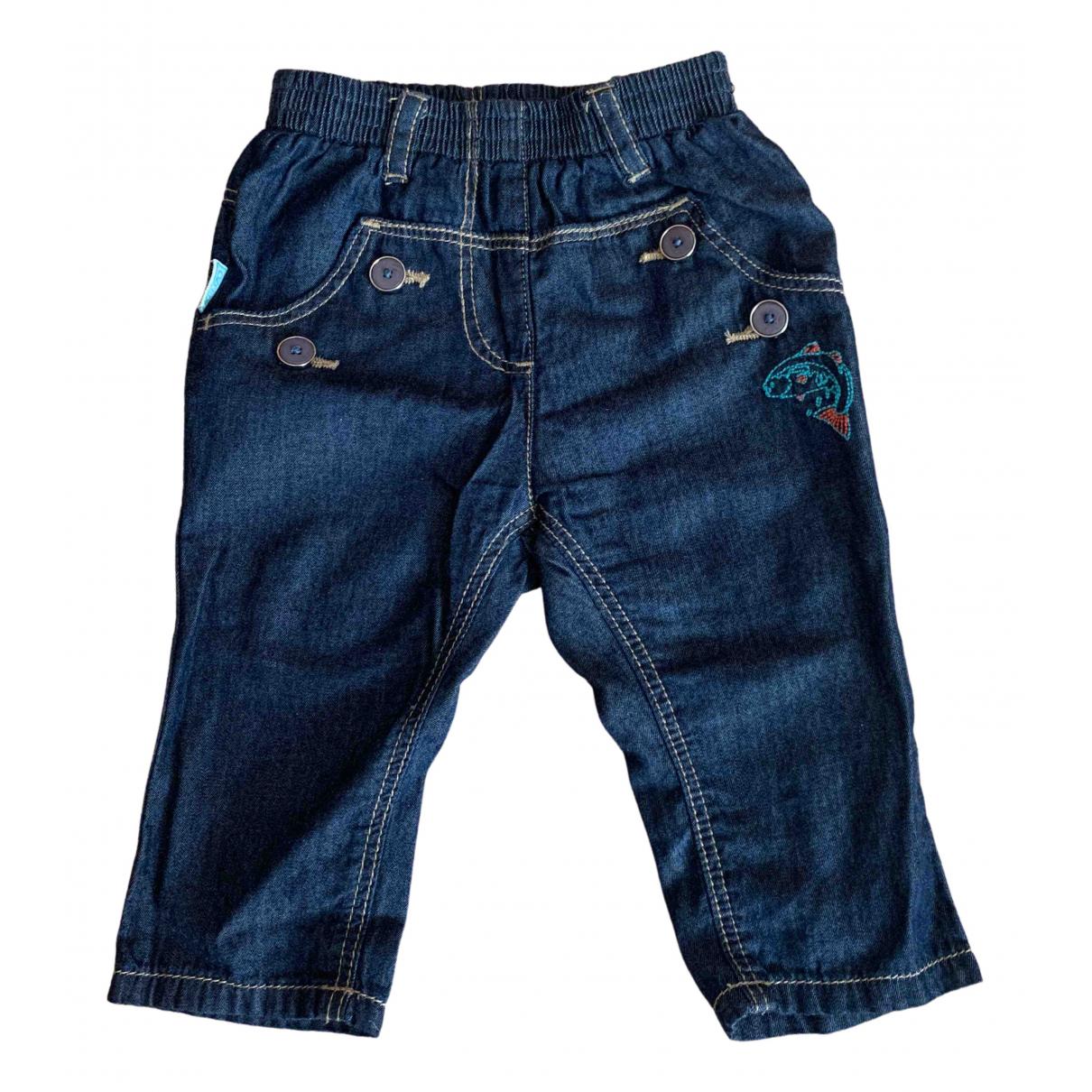 Kenzo - Pantalon   pour enfant en denim - bleu