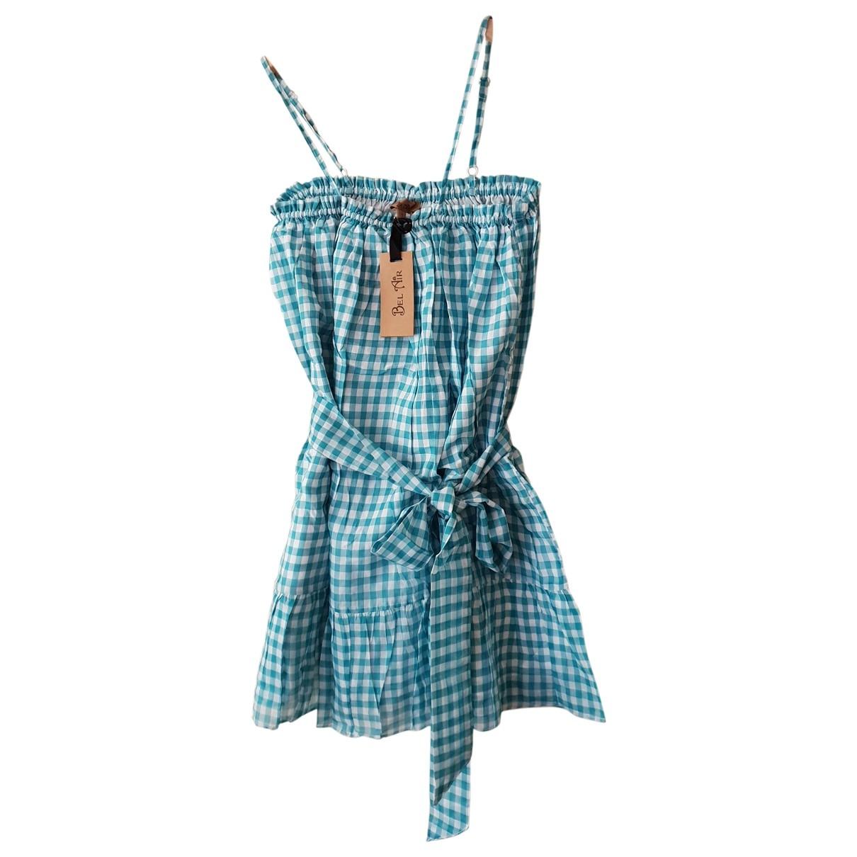 Bel Air - Robe   pour femme en coton - multicolore