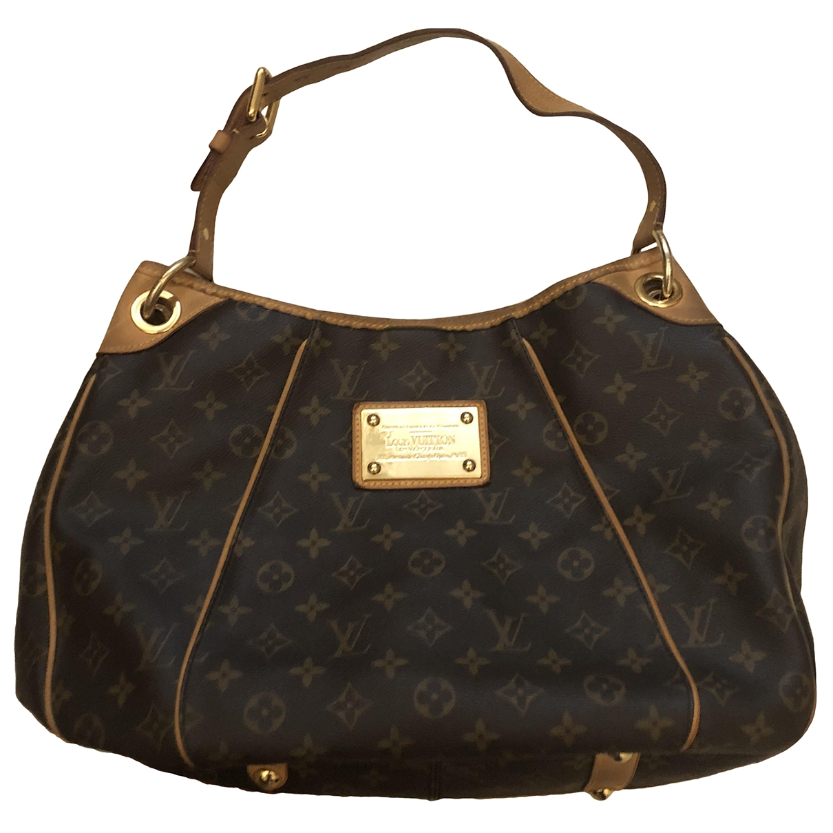 Louis Vuitton Galliera Brown Cloth handbag for Women \N