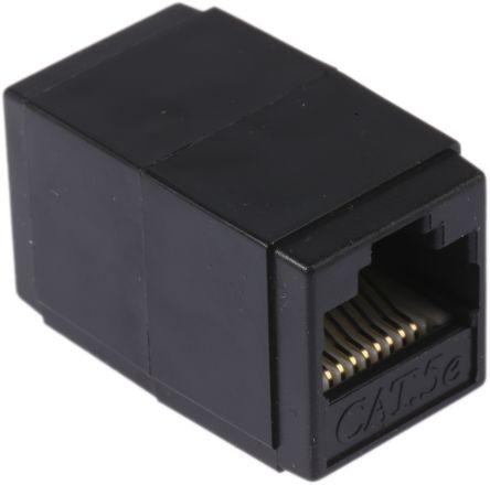 RS PRO Cat.5e RJ45 UTP socket-socket coupler