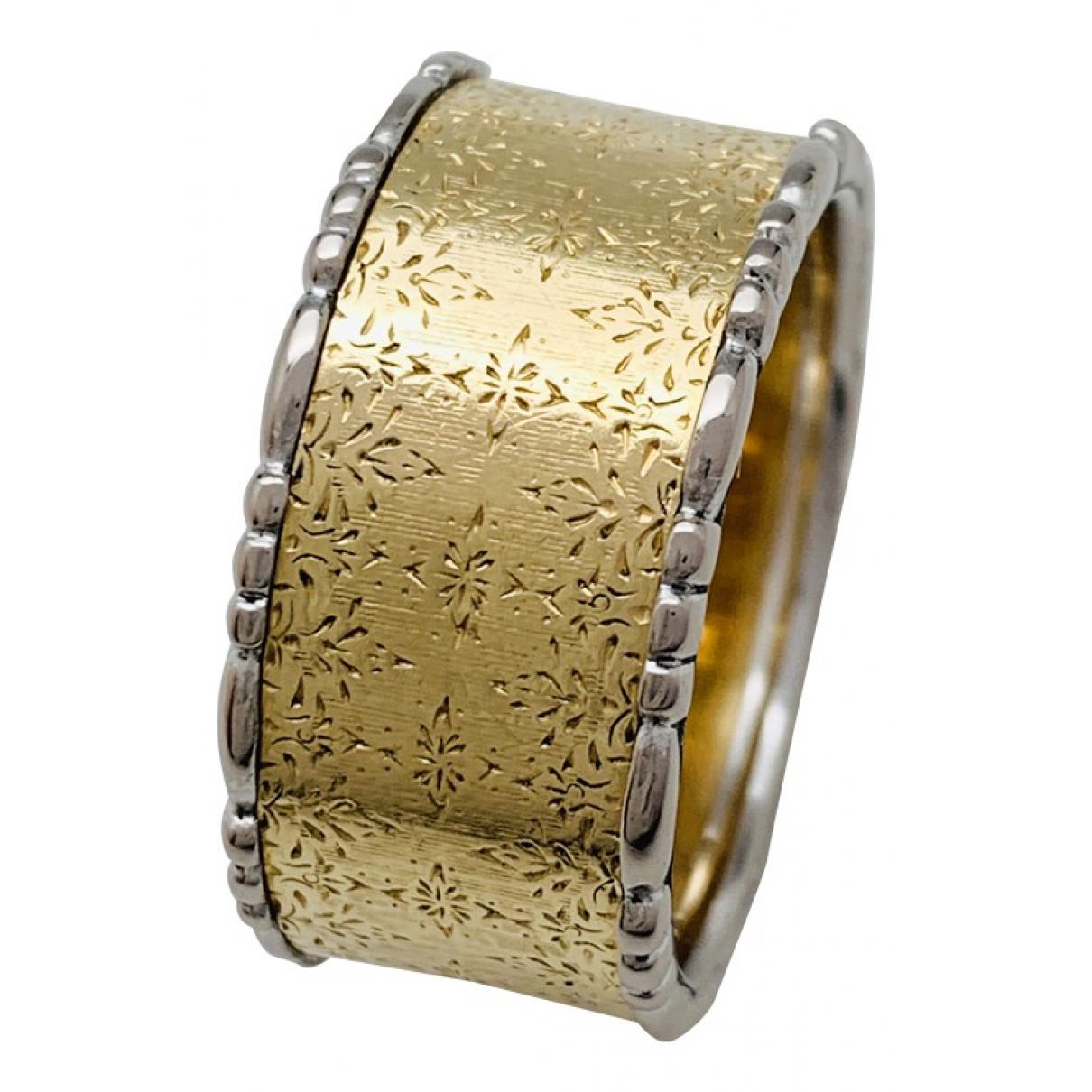 Buccellati \N Ring in  Silber Weissgold