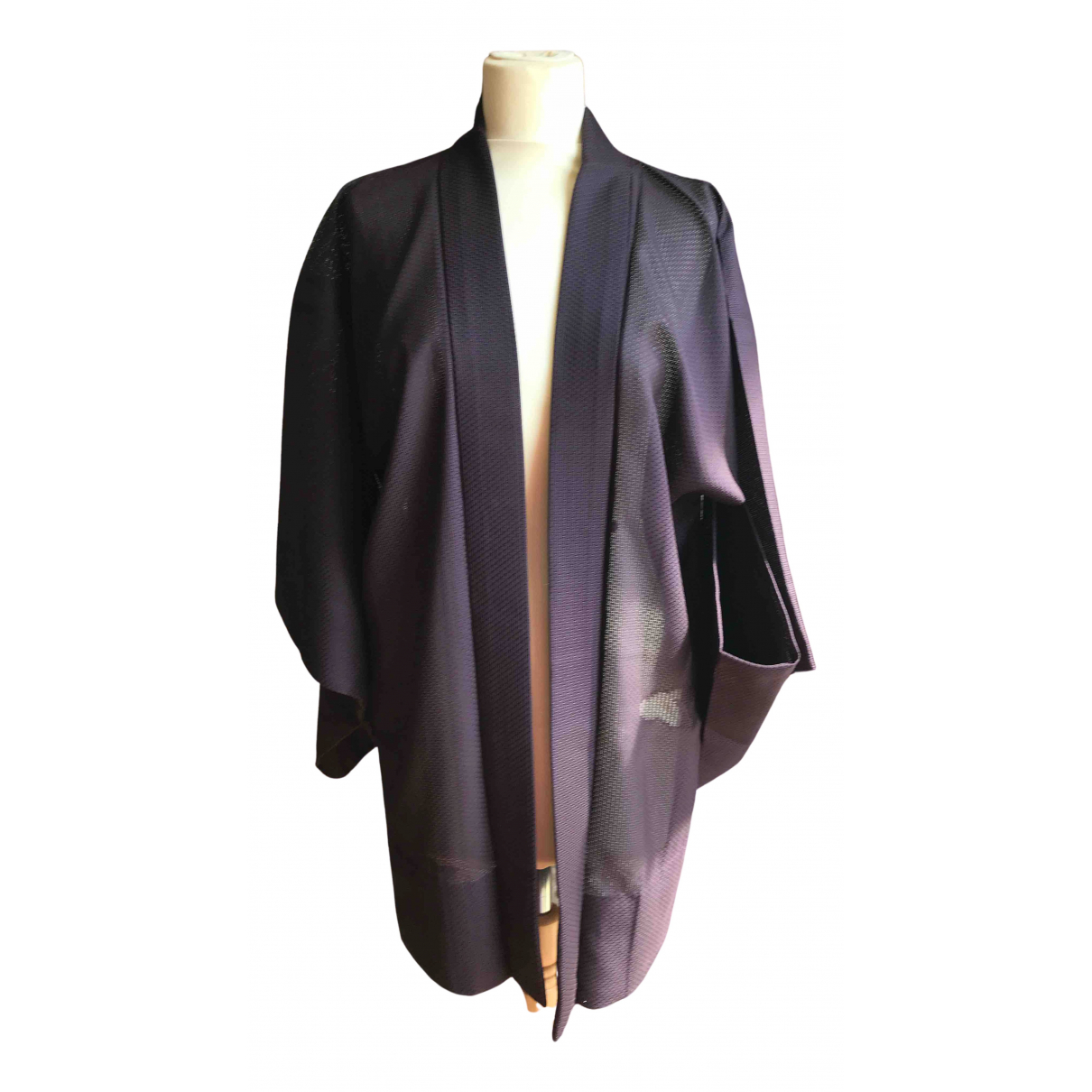 Non Signé / Unsigned \N Purple coat for Women One Size International