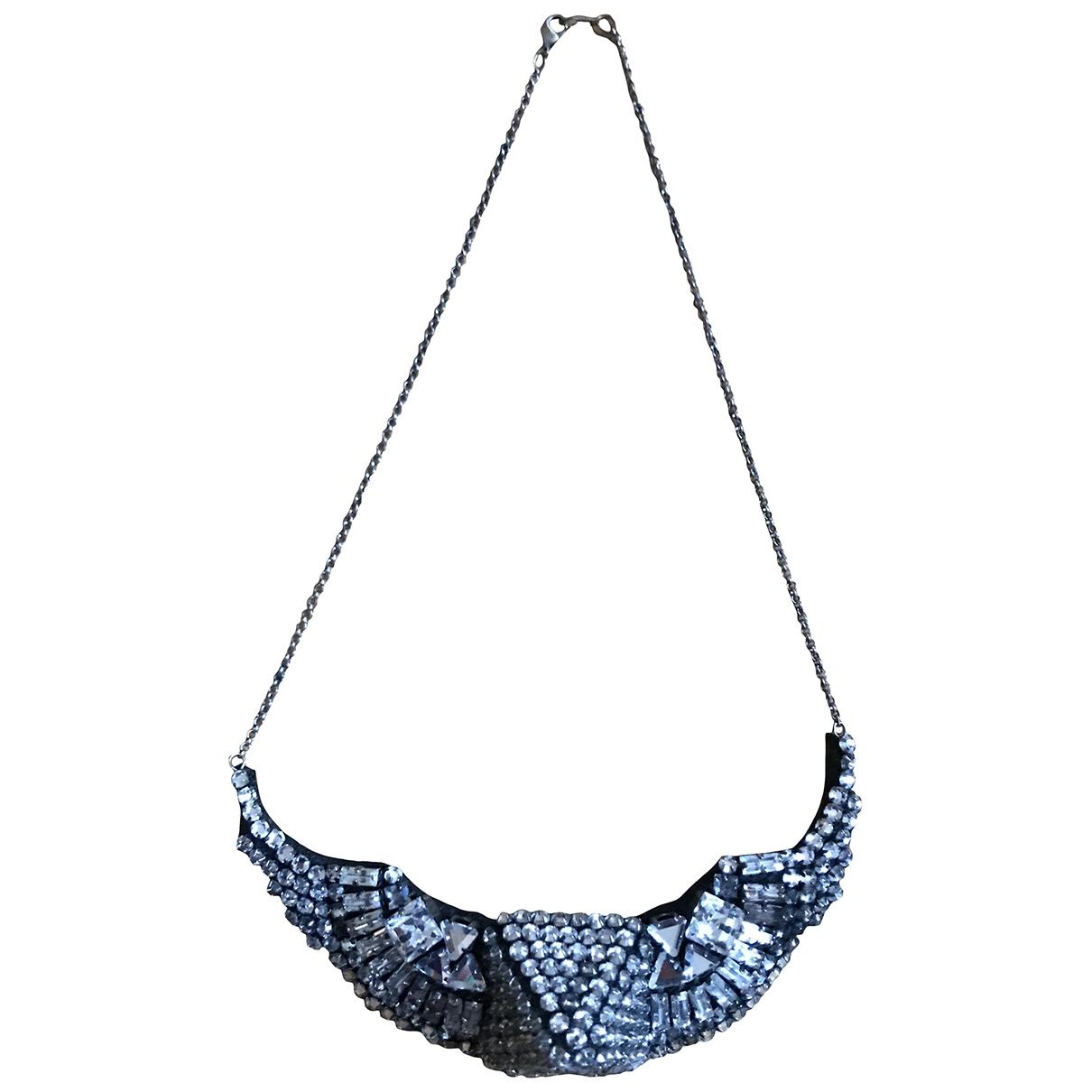 Shourouk - Collier   pour femme en cristal - argente