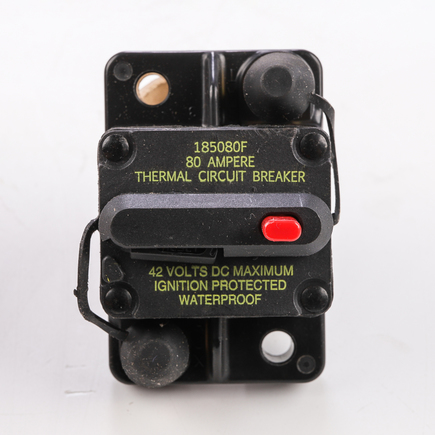 Bussmann Fuses CB185-80 - Type Iii Switchable Manual Reset Surface ...